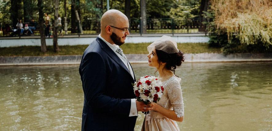 Glückliches Paar Alexandra und Andreas