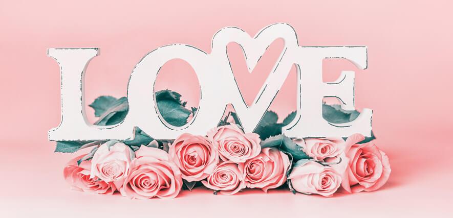 Liebe zum Valentinstag