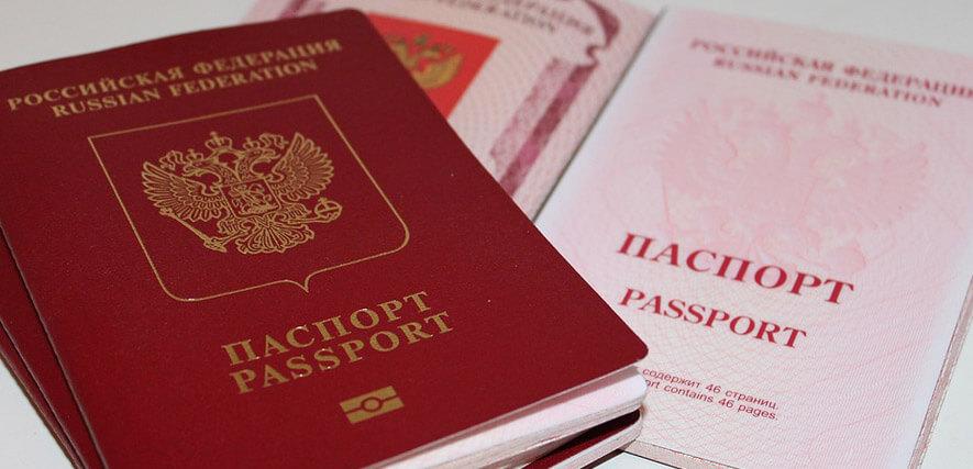 Russischer Ausweis