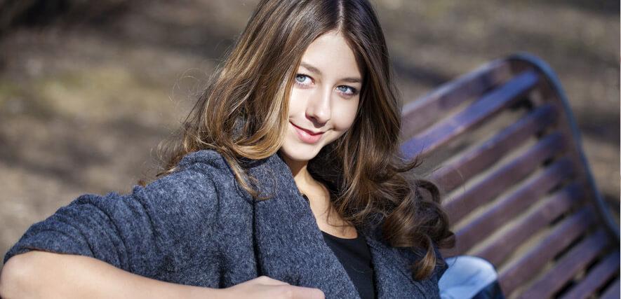 Hübsche Frau aus Kaliningrad