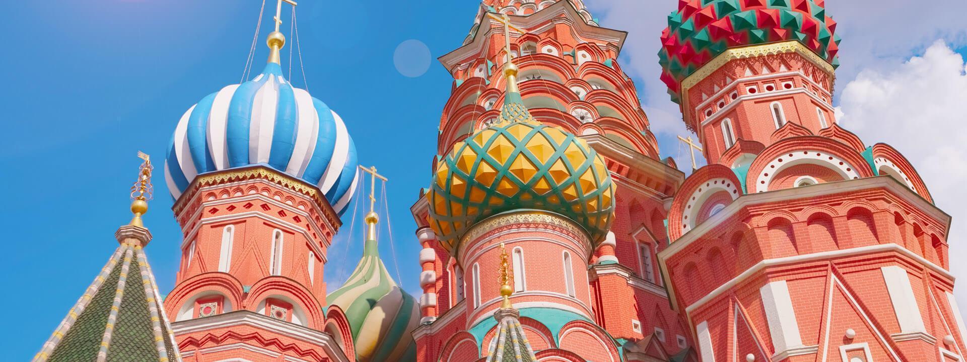 Russland-Reise