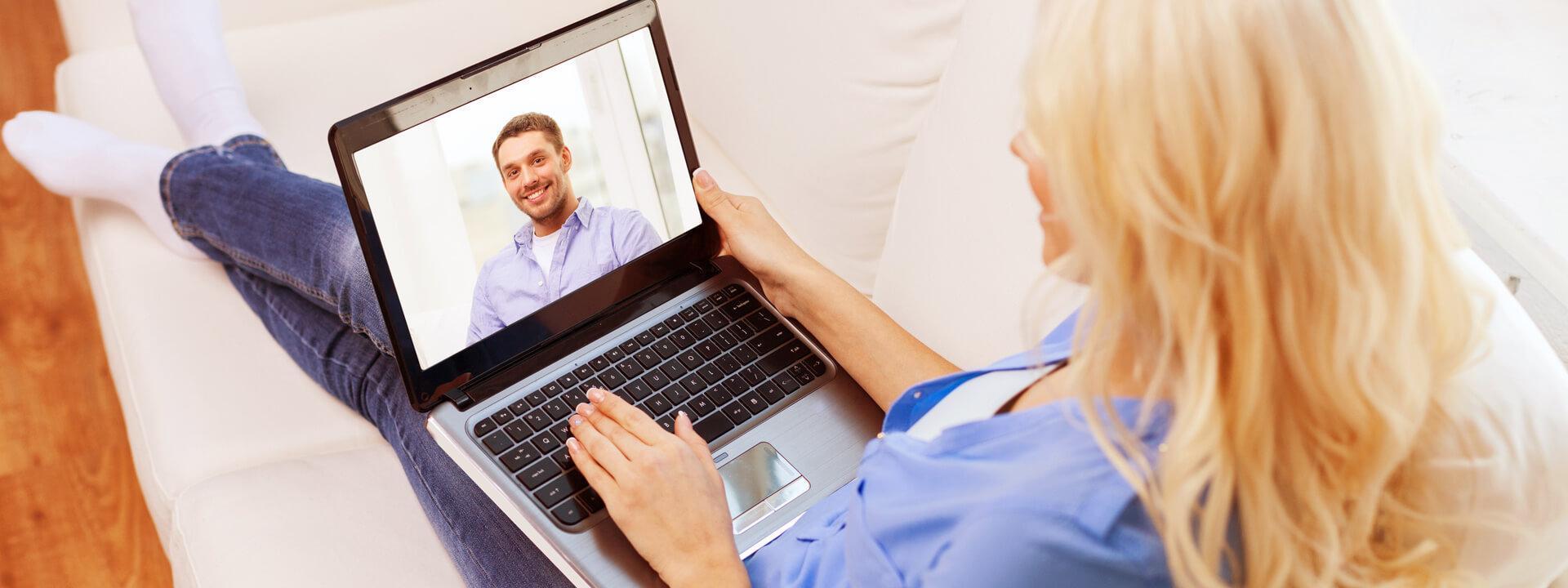 Per Video-Chat unterhalten