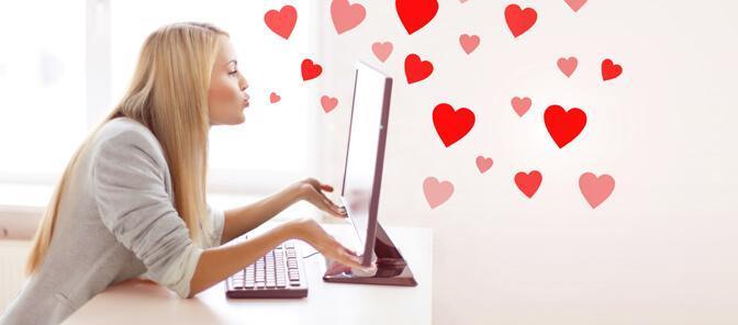Online-Dating Erfolg
