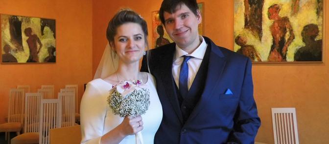 Ehepaar Ekaterina und Jochen