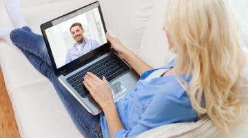 Kennenlernen per Video-Chat