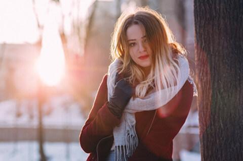 Dame aus Kaliningrad