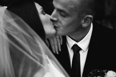 Glückliches Paar Anastasia und Martin