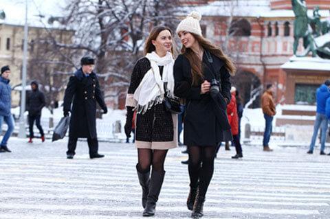 Hübsche Russinnen kennenlernen