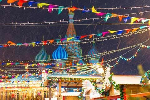 Russische Feiertage